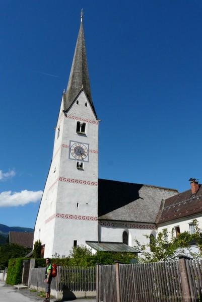 Stary kościół Sw. Marcina w Garmisch-Partenkirchen (XIV).