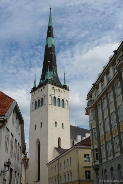 Wieża kościoła św. Olafa, 123m, XIII w., przeb. XIX w.