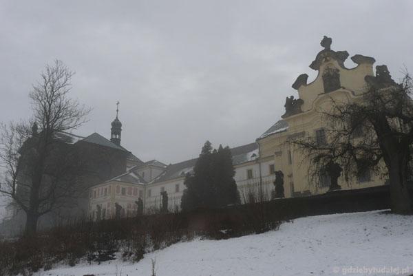 Barokowy szpital i kościół w Kuks.