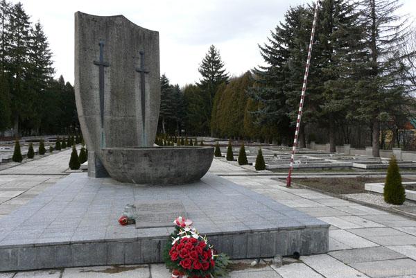 Cmentarz wojenny w Baligrodzie.