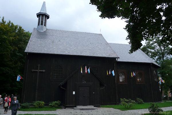 Drewniany barokowy kościół w Gąsawie, XVII w.
