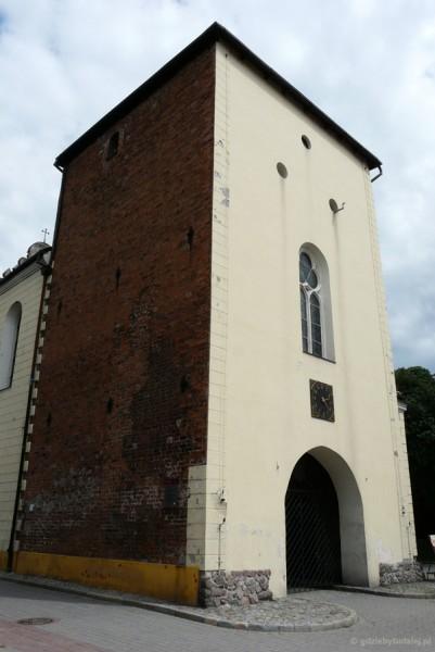 Gotycka Brama Grudziądzka.