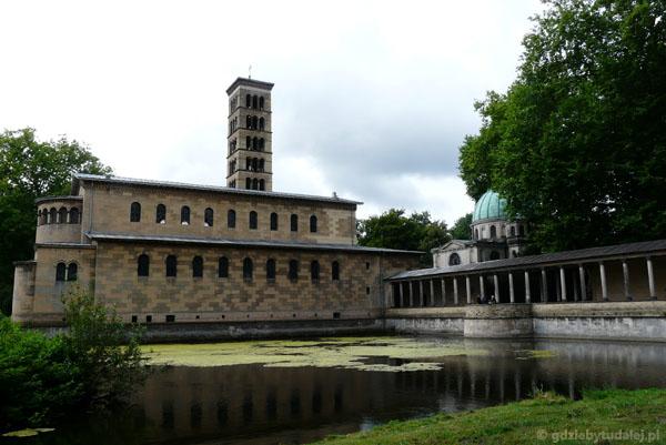 Kościół Pokoju w Parku Sanssouci (XIX).