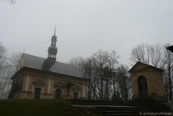 Kościółek Ukrzyżowania (pocz. XVII).