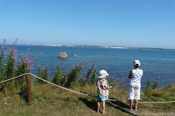 Pierwsze spojrzenie na morze.