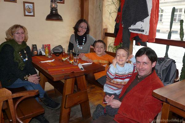 Pożegnalny obiad w Kaliszu.