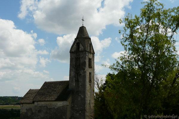 Romański (XIII) prowincjonalny kościółek w Heviz.