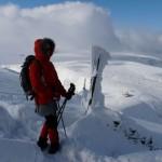 Rzut oka ze Śnieżki na zachód.
