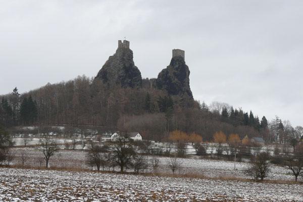 Wulkaniczne słupy są imponujące...