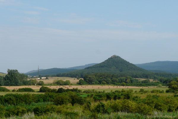 Jeden z wielu wygasłych wulkanów w okolicy Veszprem.