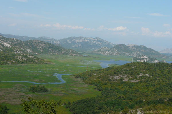 Jezioro Szkoderskie i Rijeka Crnojevića.