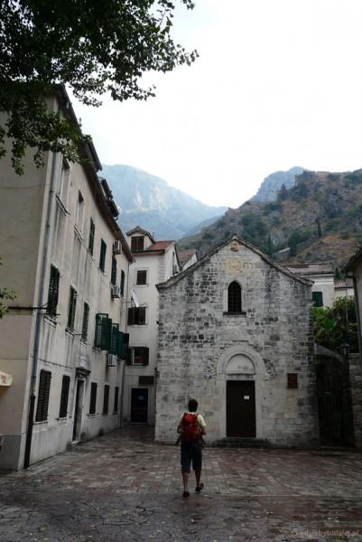Romańsko-gotycki kościół Św. Michała.