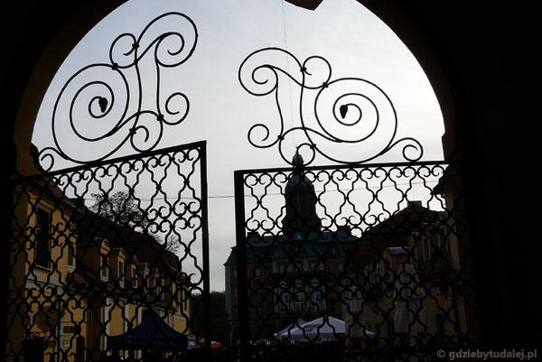 Zamek w Książu.