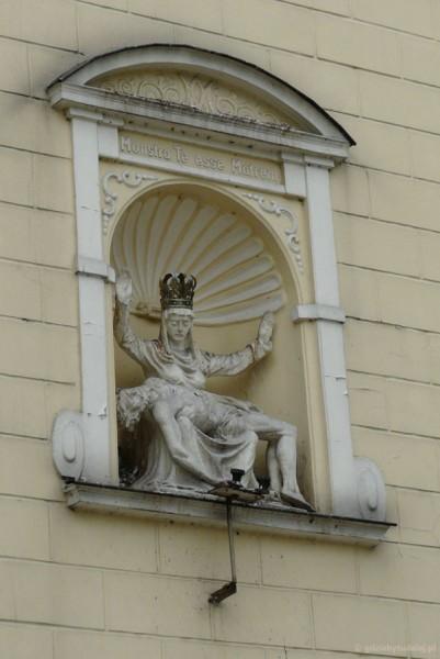 Detal kaplicy przy Bramie Grudziądzkiej.