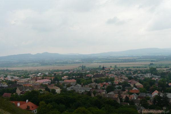 Panorama powulkanicznej okolicy Sumeg.