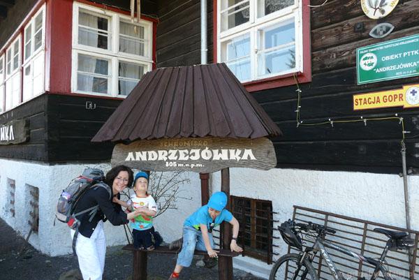 16. Schronisko Andrzejówka.