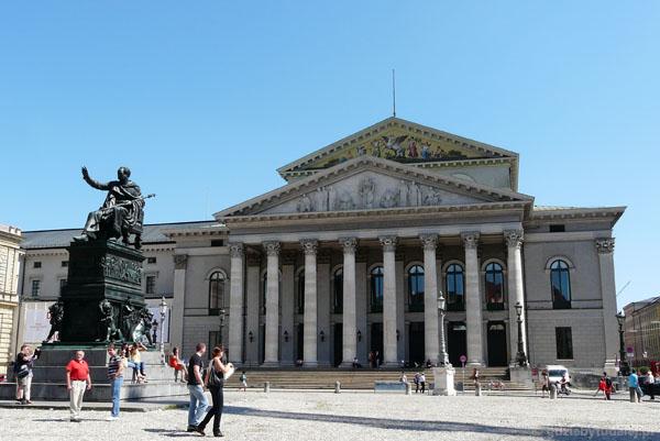 Teatr Narodowy, Maksymilian I Józef, pierwszy król Bawarii.