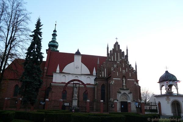 Kościół św. Katarzyny w zespole klasztoru Bernardynów (XV-XVI).