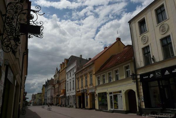Ulica Grudziądzka.