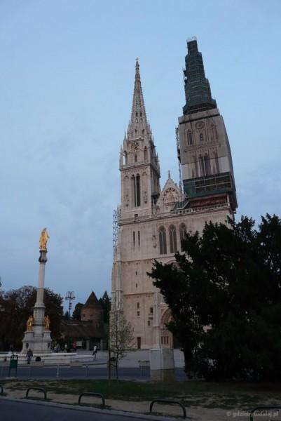 Gotycka Katedra Wniebowzięcia.