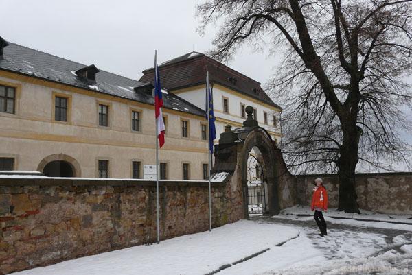 Kompleks barokowych budynków w Kuks.