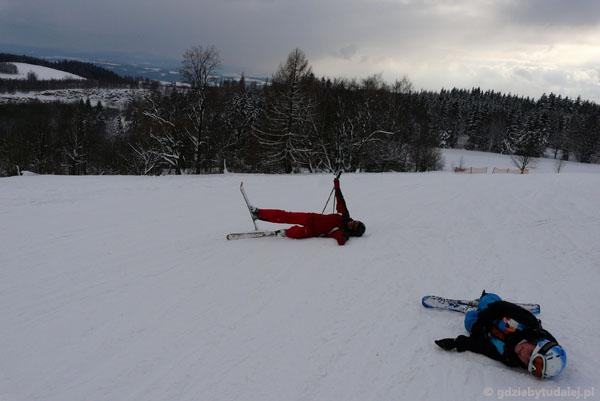 Nowy styl jazdy na nartach.