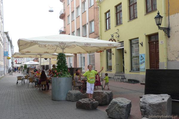 Obiad w Tartu.