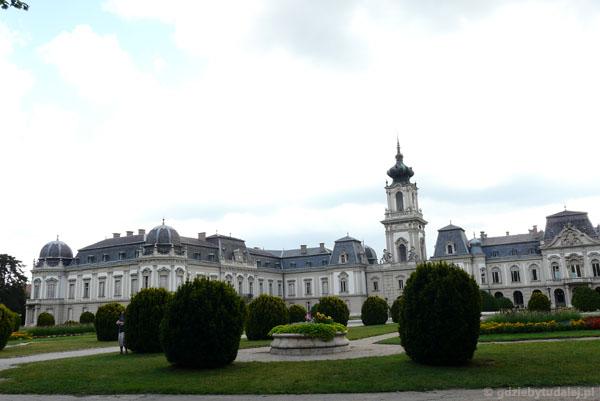 Pałac Festeticsów od strony zachodniej.
