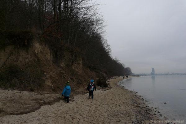 Plaża Gdynia-Redłowo.