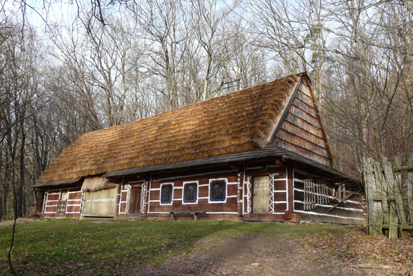 Łemkowska chata.