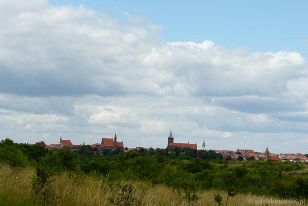 Widok na Chełmno - jak za czasów średniowiecza.