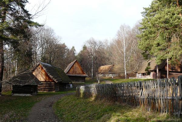 Łemkowska wieś.