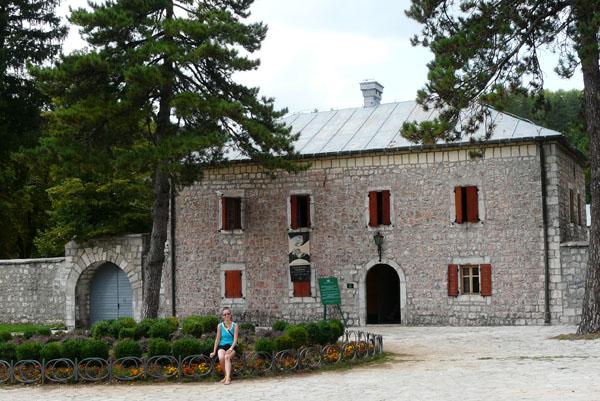 Dwór władyki (Biljarda), obecnie Muzeum Njegoša w Cetinje.