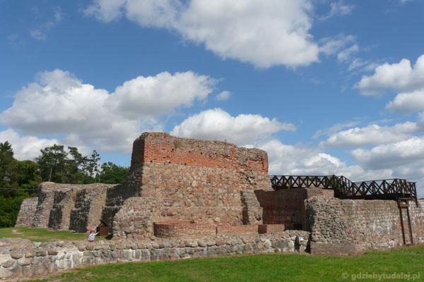 Ruiny zamku (XIV) Mikołaja Nałęcza - 'diabła weneckiego'.