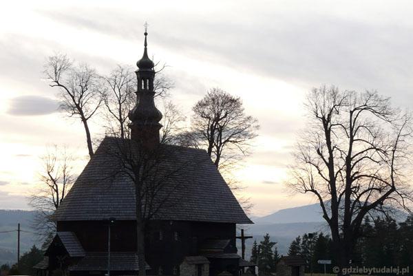 Kościół pw. Św. Krzyża, XVIII w, Chabówka.
