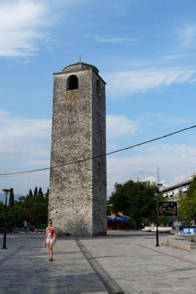 Podgorica - turecka wieża zegarowa (XVIII).