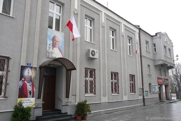 Dom rodzinny Karola Wojtyły.