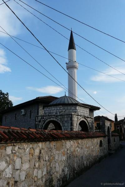 Jeden z podgorickich meczetów, dzielnica Stara Varoš.