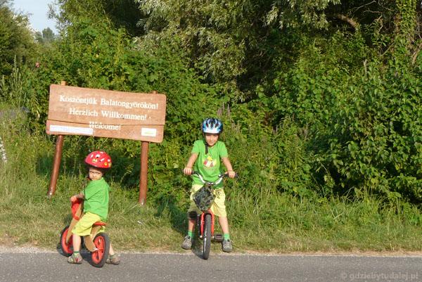 Spacer rowerowy po Vonyarcvashegy.