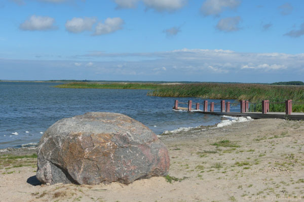 Afrykańska plaża (Afrika rand) w Haapsalu.