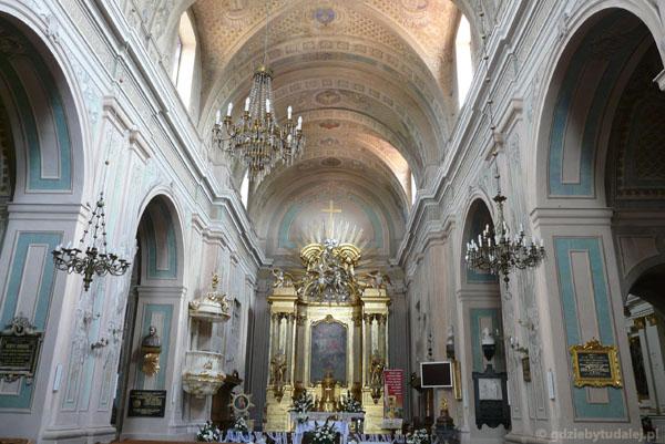 Barokowy Kościół Trójcy Przenajświętszej, Tykocin.