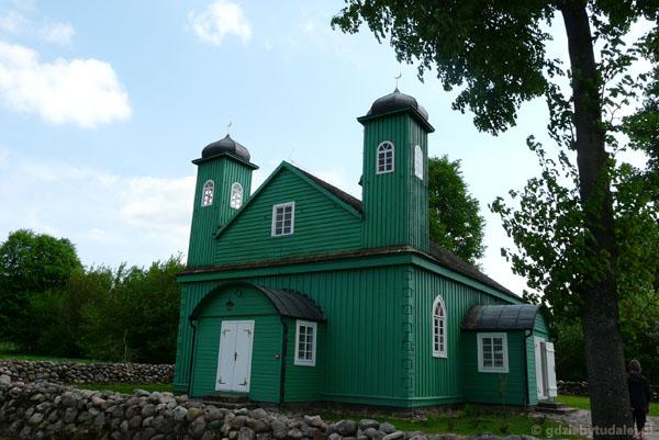 Meczet w Kruszynianach (kon. XVIII).