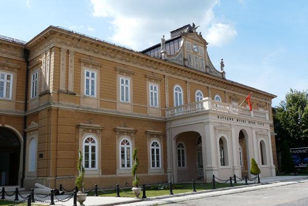 Vladin Dom, dawny parlament, obecnie muzeum.