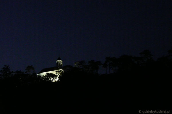 Wieczorny widok z tarasu...