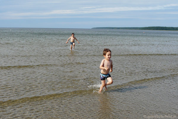 Morze płytsze niż Balaton.