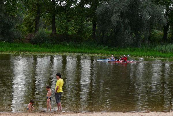 Nad brzegiem Emy, Tartu.