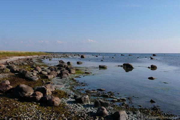 Plaża w okolicy Paldisek.