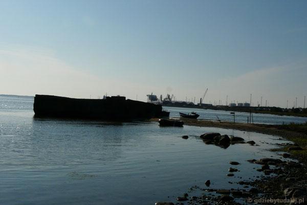 Rzut oka na port w Paldiskach.