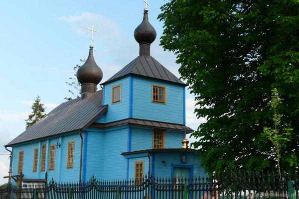 Cerkiew w Augustowie k. Bielska Podlaskiego.