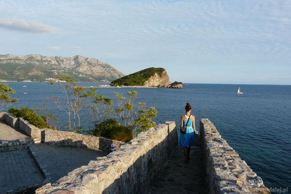 Spojrzenie na wyspę Sv. Nikola.